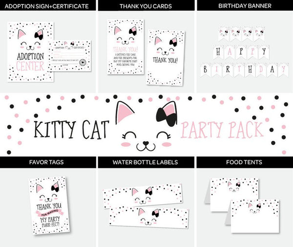 Kitty Cat Party Pack