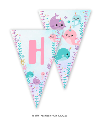 Narwhals Party Banner