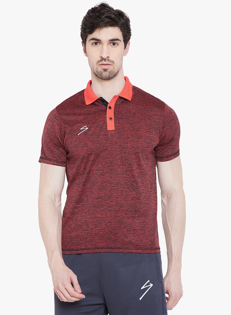T-shirt Polo 14 Red - NFSporTech