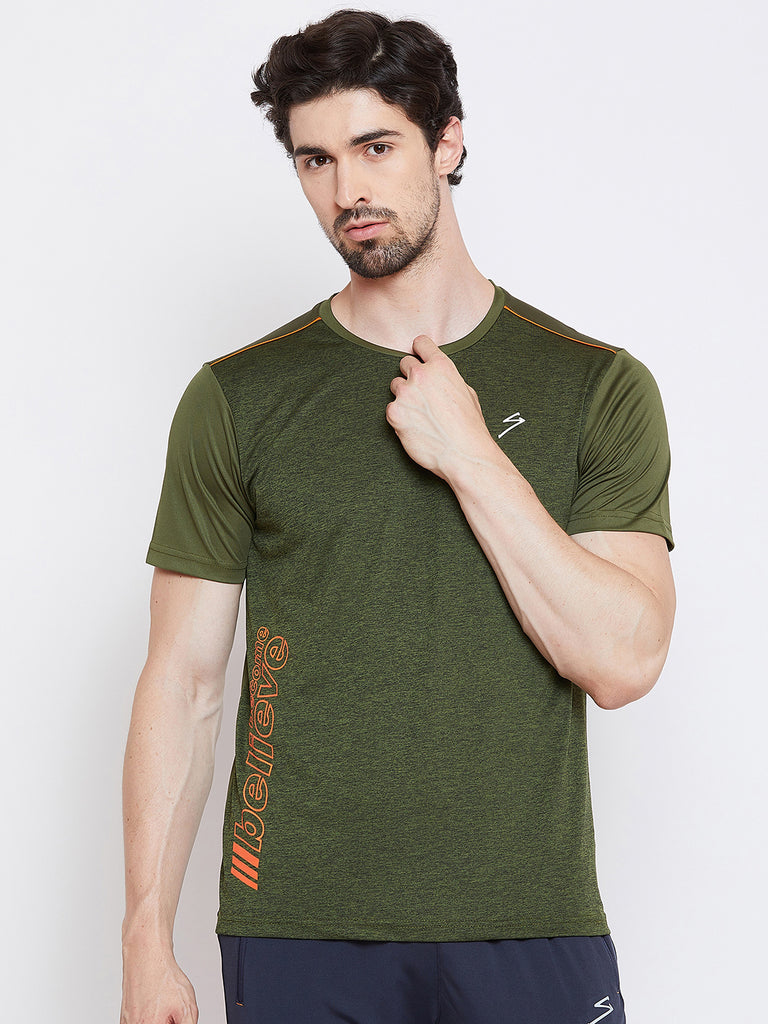 T-shirt RTS2289 Olive - NFSporTech