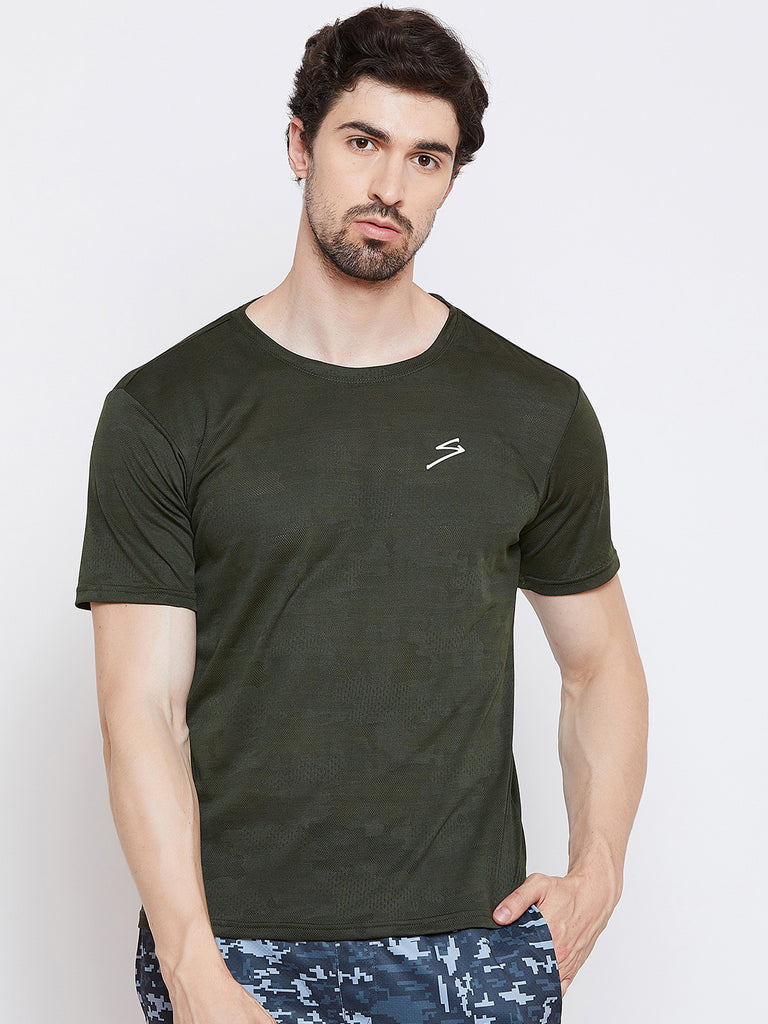 T-shirt RTS2250 Olive - NFSporTech