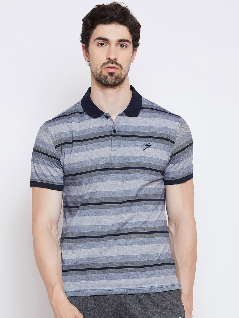 T-shirt Polo 3410 Navy - NFSporTech