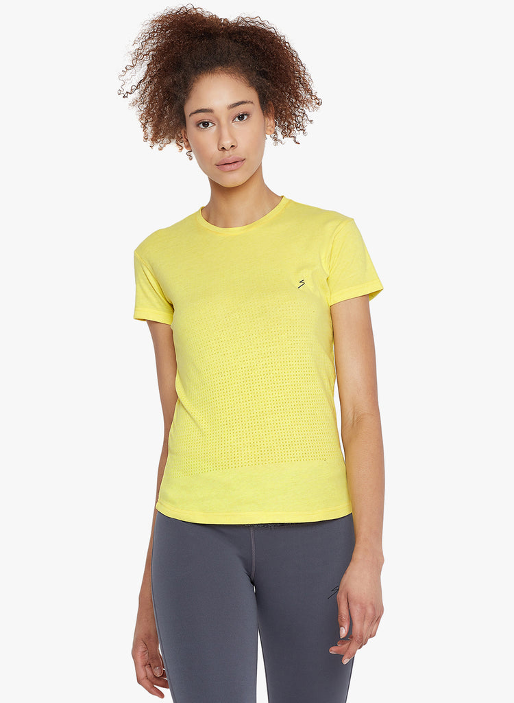 T-shirt RTSW2283 Yellow - NFSporTech