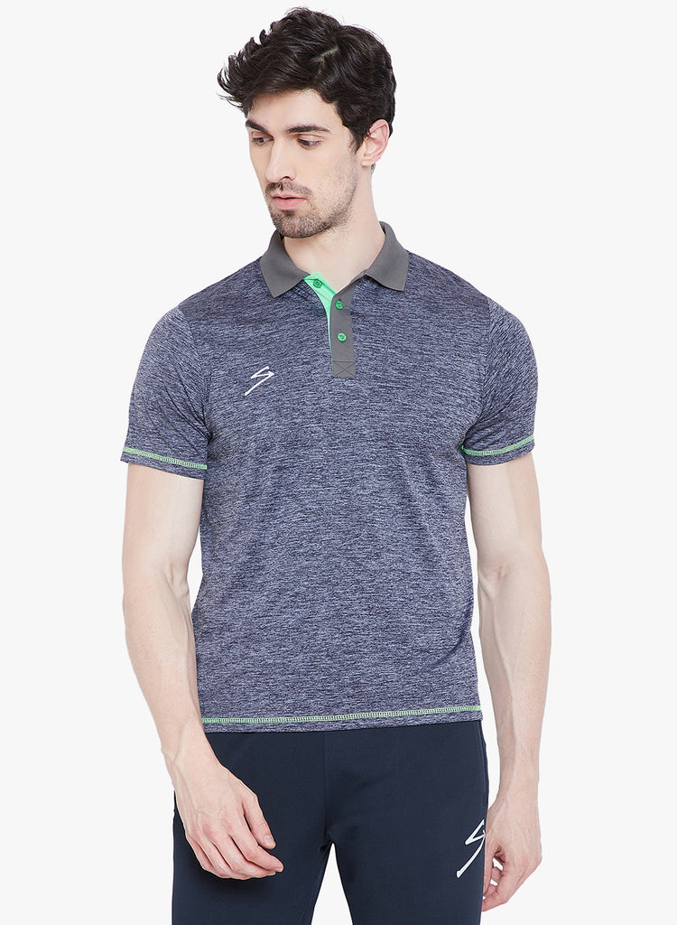 T-shirt Polo 14 India Blue - NFSporTech