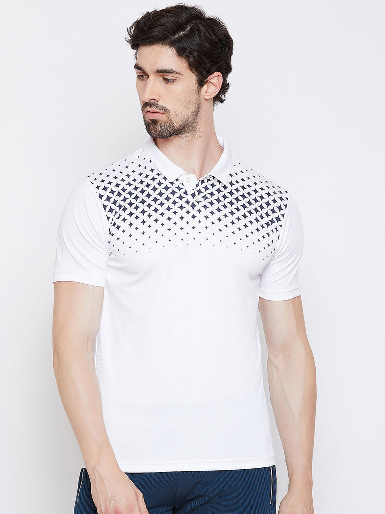 T-shirt Polo 3357 White - NFSporTech