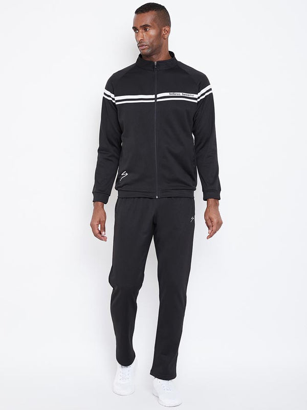 Track Suit SG Men MTSL002 Blacke/White-SG - NFSporTech
