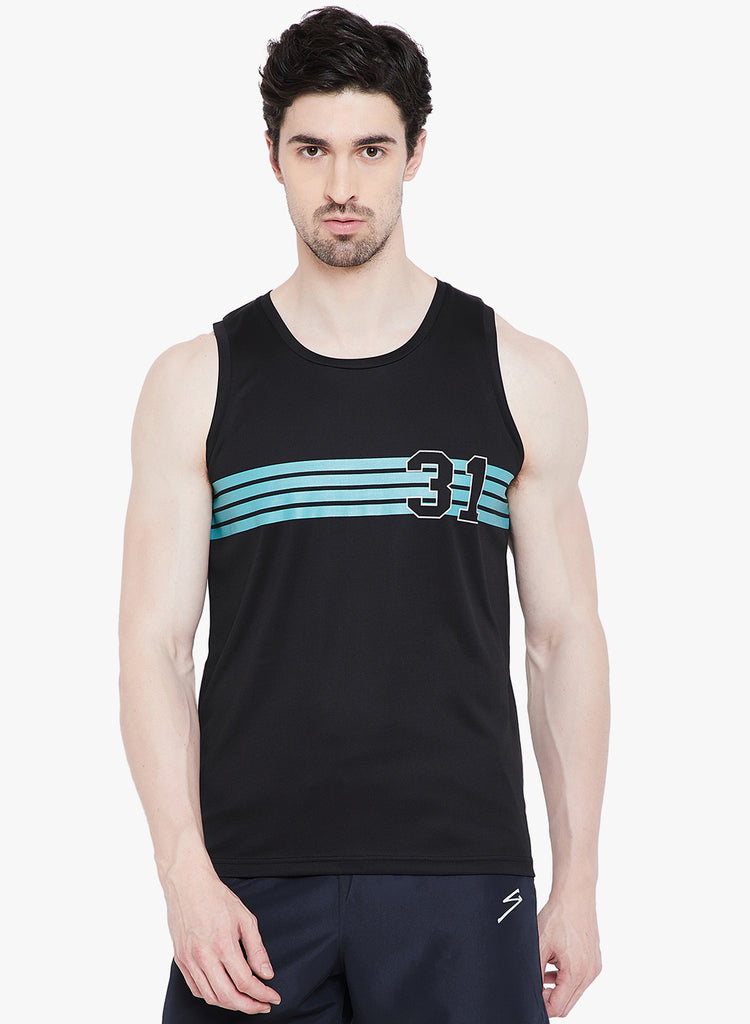 Gym Vest TV1110 Black - NFSporTech