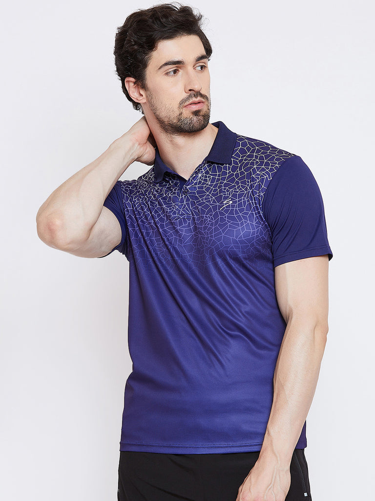 T-shirt Polo 3312 Navy - NFSporTech
