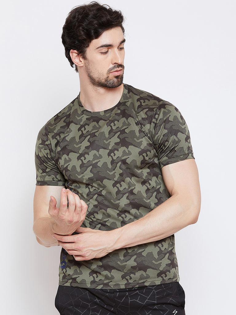 T-shirt RTS2206 Olive - NFSporTech