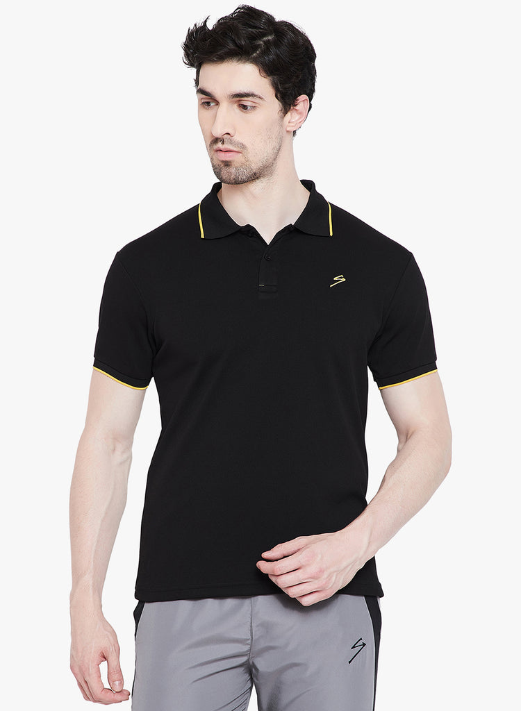 T-shirt Polo 3308  Black - NFSporTech