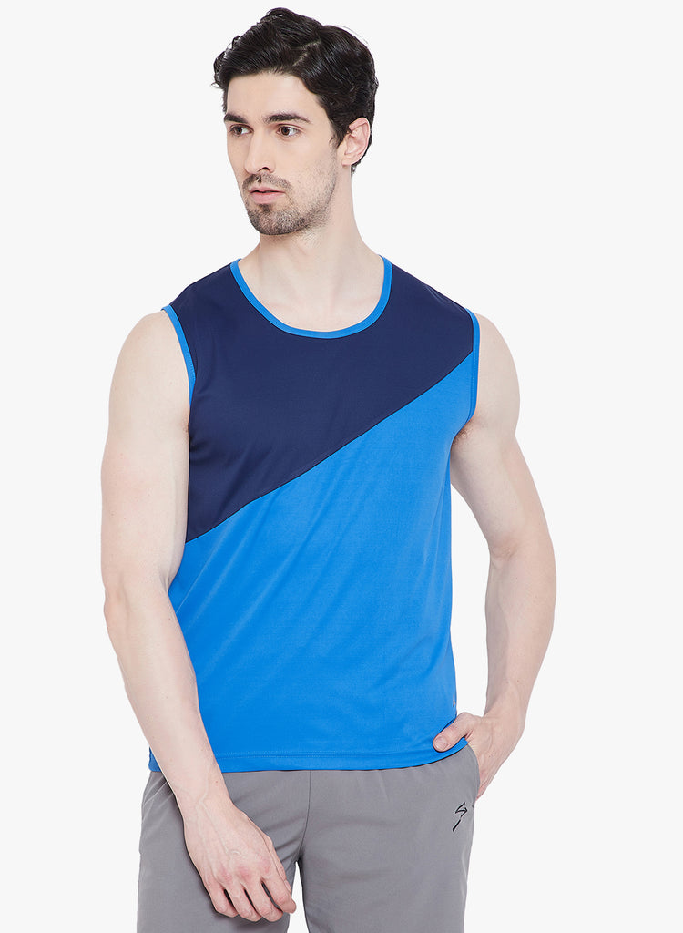 Training Vest TV1109 India Blue - NFSporTech