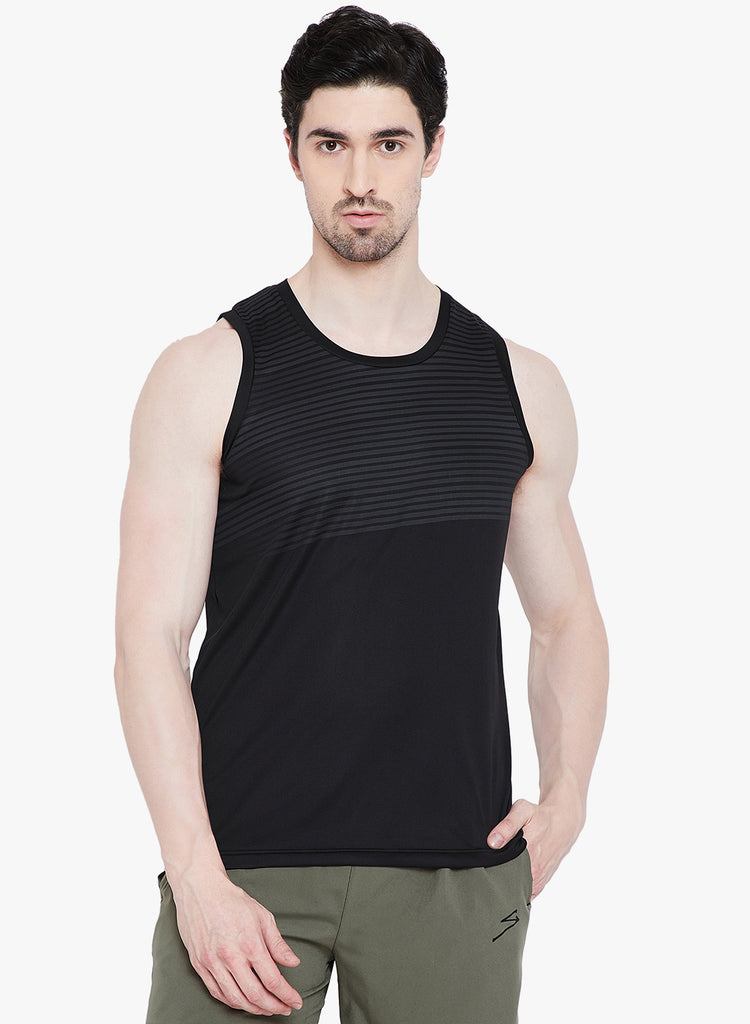 Running Vest TV1112 Black - NFSporTech