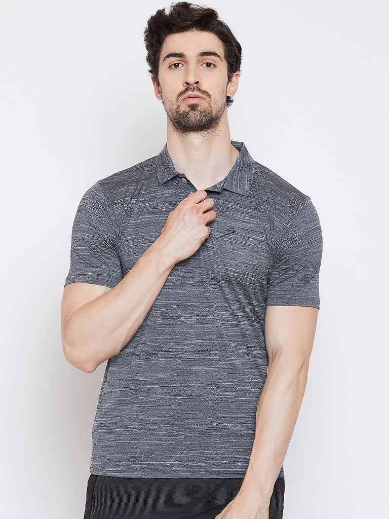 T-shirt Polo 3352 Grey - NFSporTech