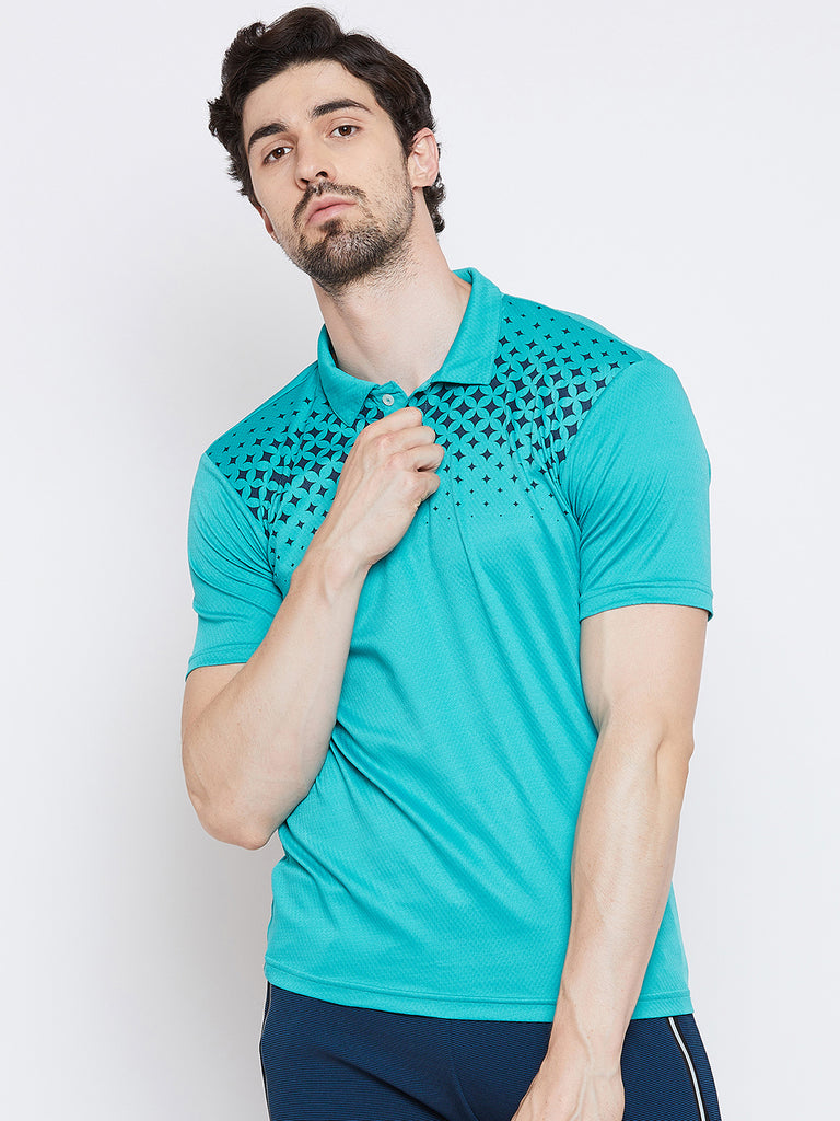 T-shirt Polo 3357 A Green - NFSporTech