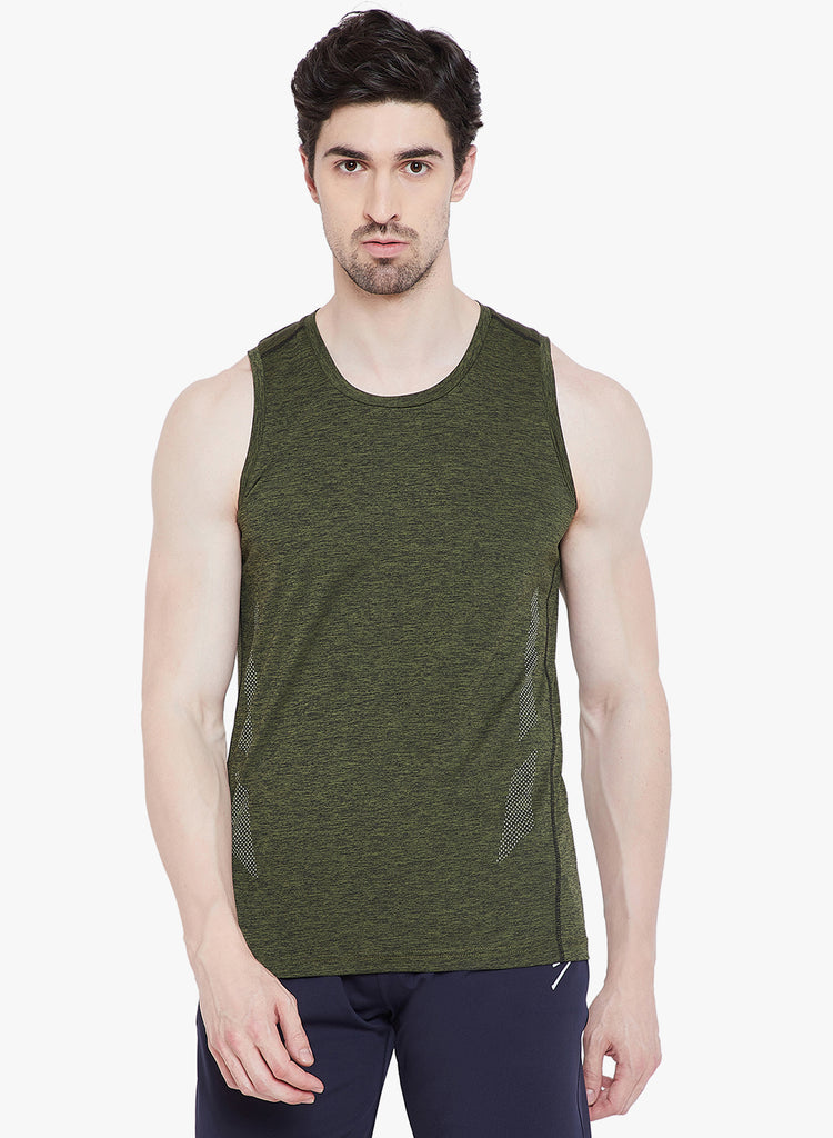 Gym Vest TV1105 Olive - NFSporTech