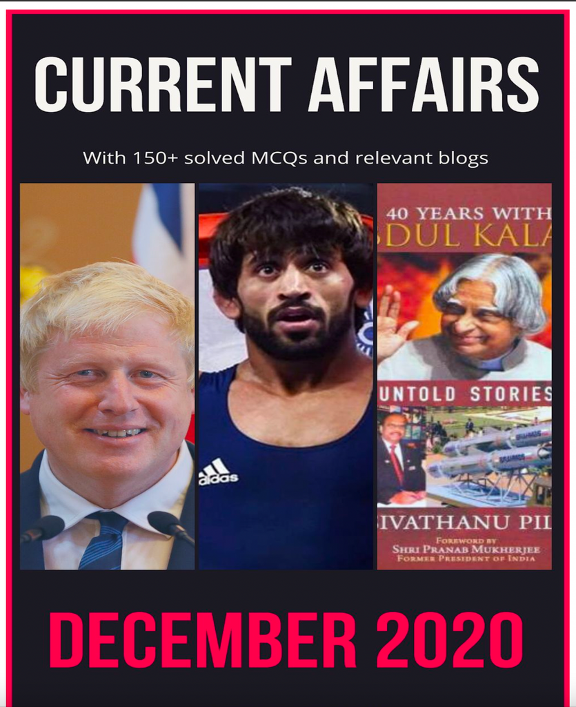 Current Affairs by NFA - December 2020