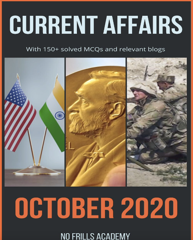 Current Affairs by NFA - October 2020