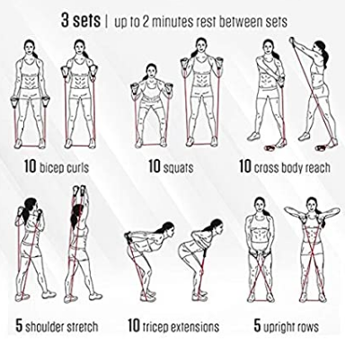 Exercise & Fitness Resistance Tube