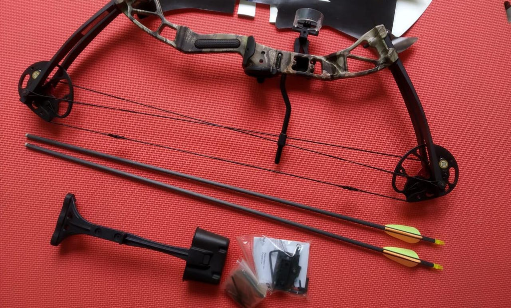 COMPOUND BOW FOLIUM CAMO RAISER