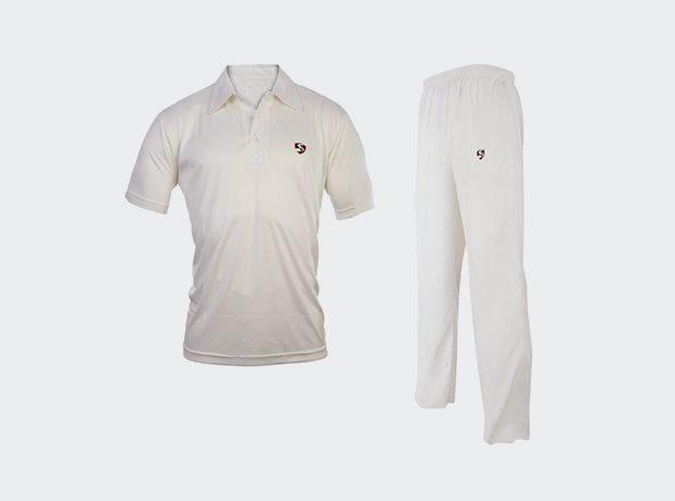 Cricket Whites club (half sleeves combo)-SG | NFSporTech