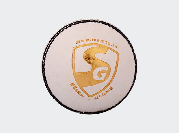 SG Club™ White Cricket Ball-SG - NFSporTech