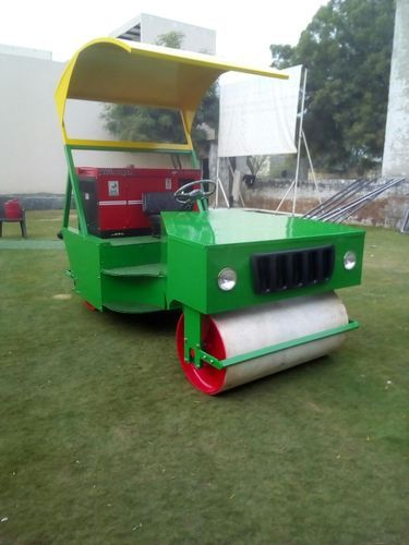 Motorised Pitch roller Petrol cum electric