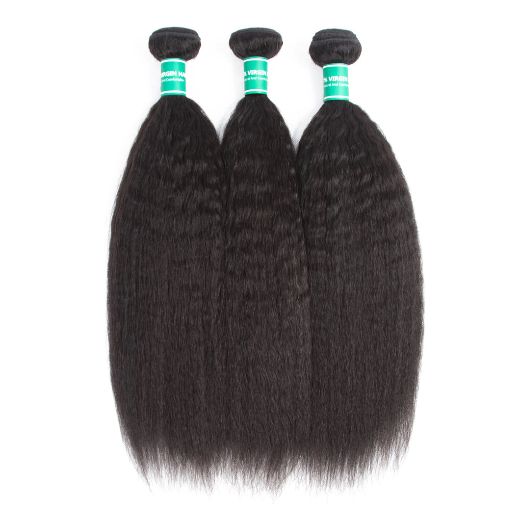 Malaysian Kinky Straight Hair