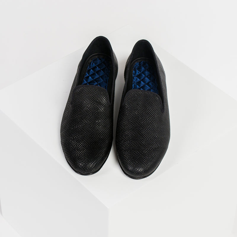 LOAFER DIAMOND BLACK