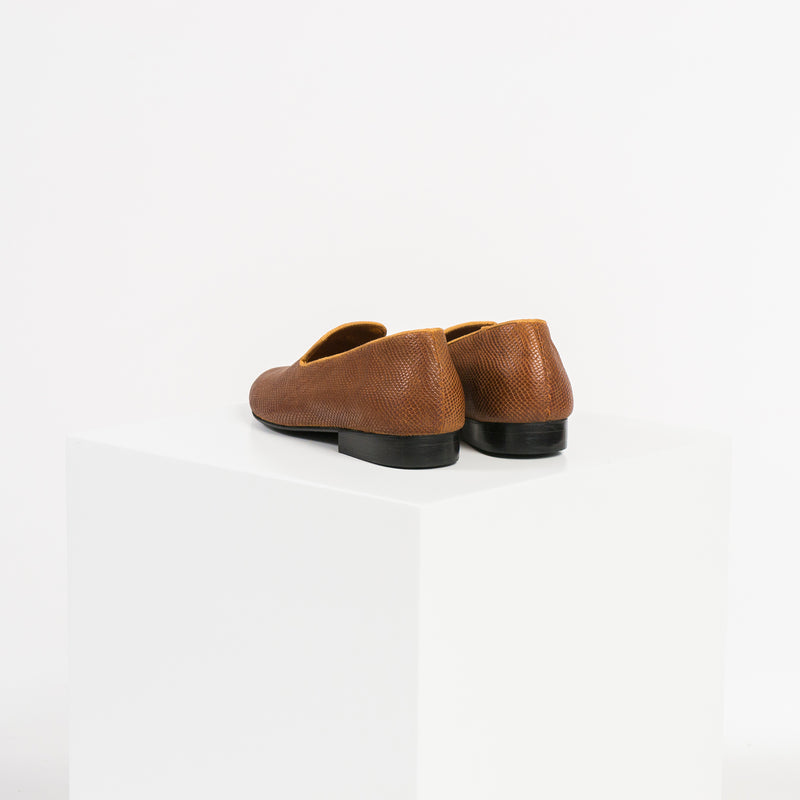 LOAFER DIAMOND BROWN