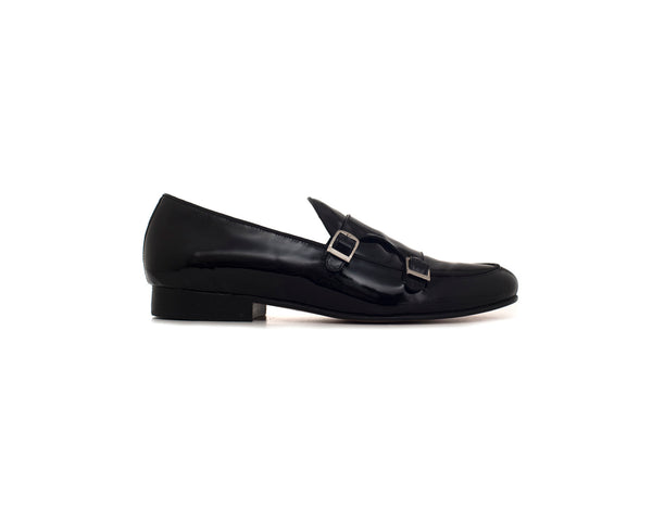 LOAFER PATENT BUCKLES