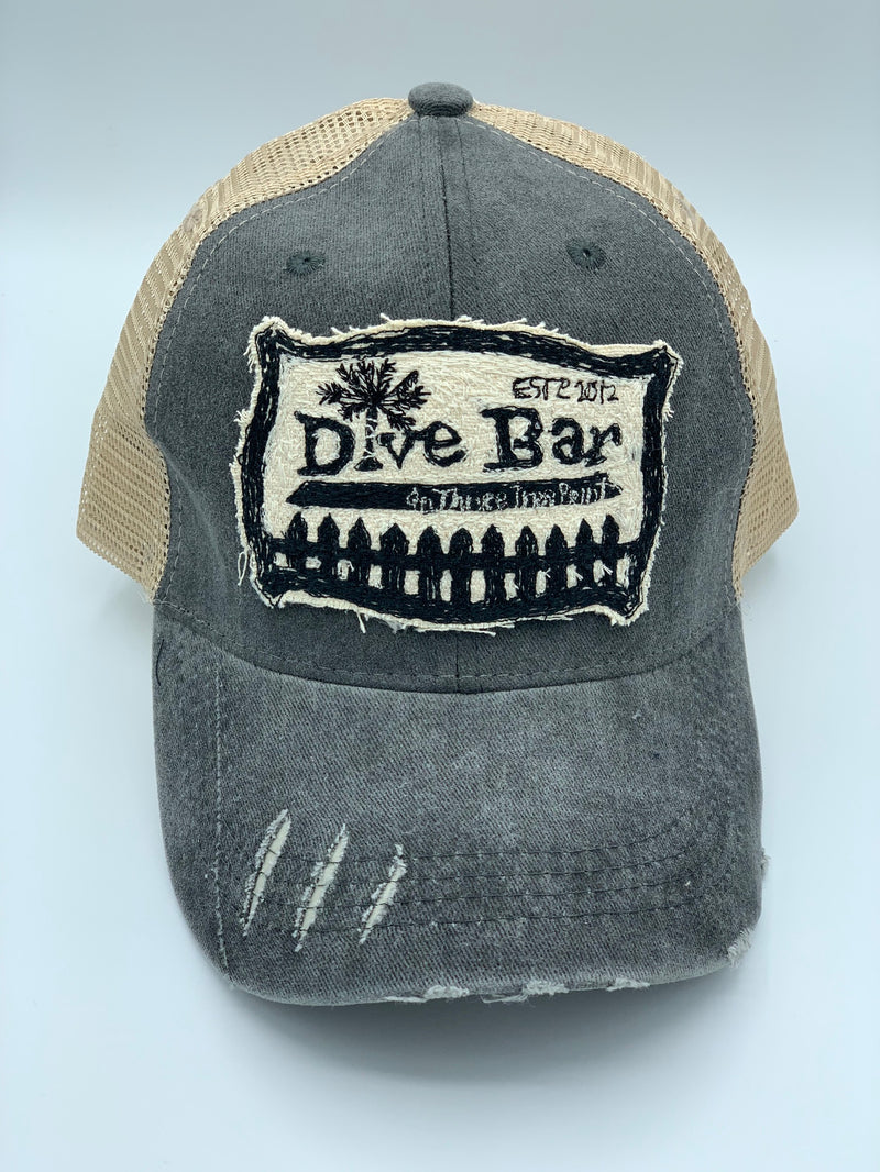 Blink Blink Trucker Hat, Dive Bar