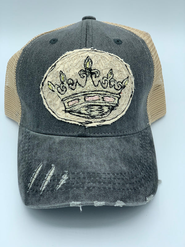 Blink Blink Trucker Hat, Crown 110