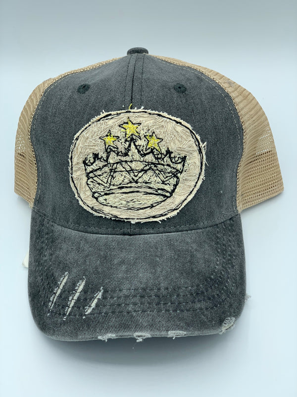 Blink Blink Trucker Hat, Crown 101
