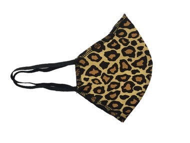 Howard & Marge Face Mask, Leopard