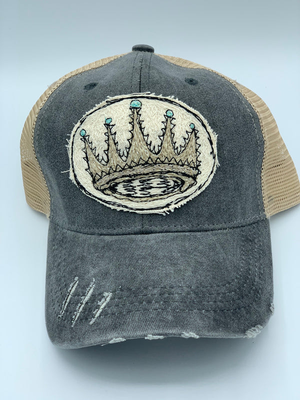 Blink Blink Trucker Hat, Crown 106