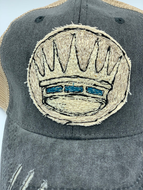 Blink Blink Trucker Hat, Crown 103