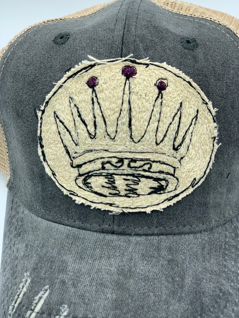 Blink Blink Trucker Hat, Crown 104