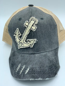 Blink Blink Trucker Hat, Anchors Away 105