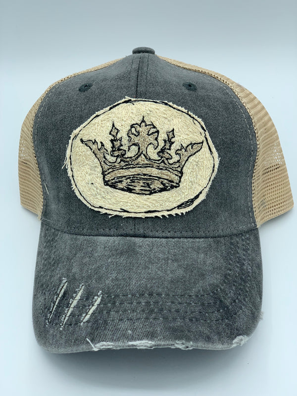 Blink Blink Trucker Hat, Crown 102