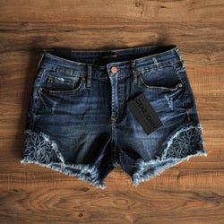 Dear John Women's Embroidered Denim Shorts