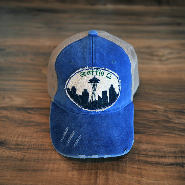 Blink Blink Trucker Hat, Seattle