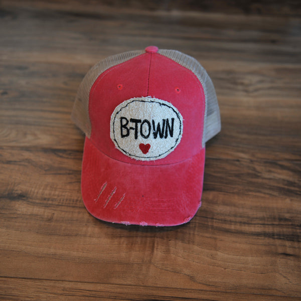 Blink Blink Trucker Hat, B-Town