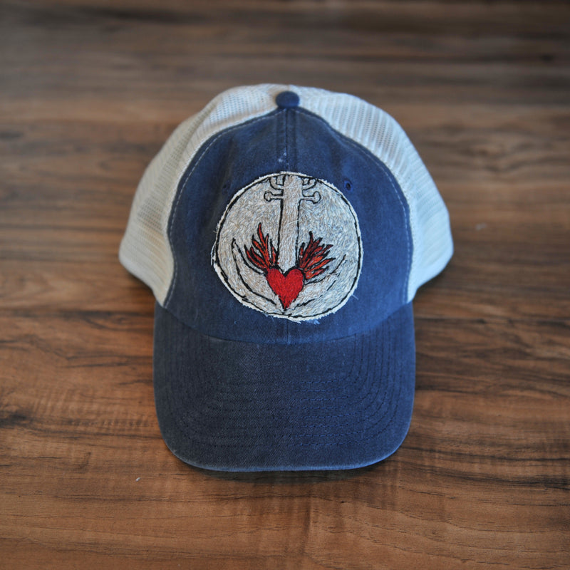 Blink Blink Trucker Hat, Anchor