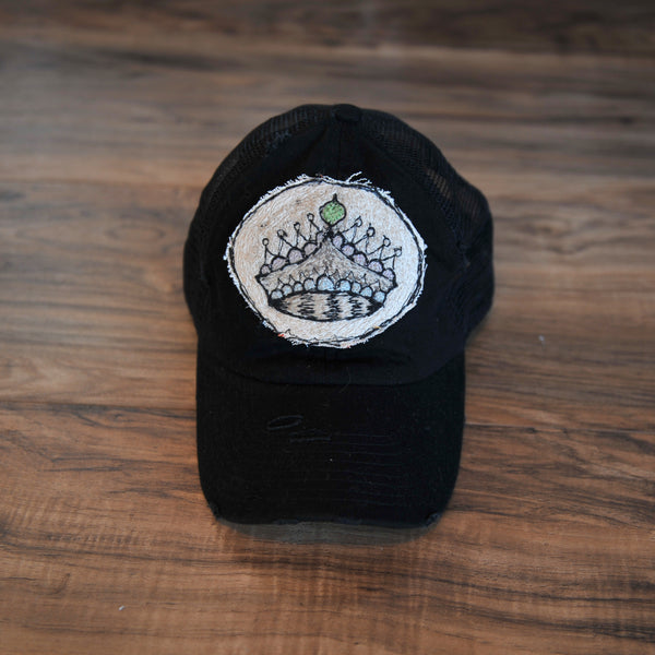 Blink Blink Trucker Hat, Crown