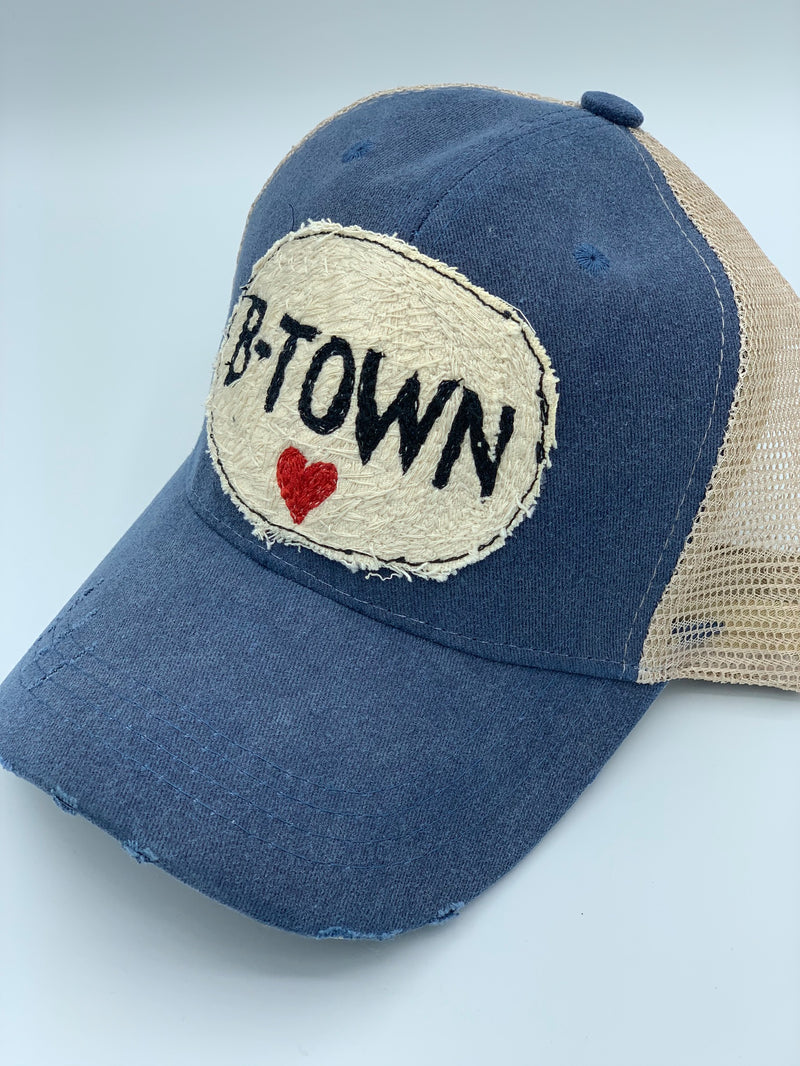 Blink Blink Trucker Hat, BTOWN Heart