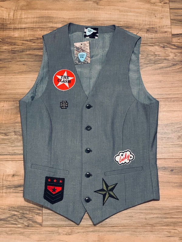 Antique Dime Women's Boyfriend Vest