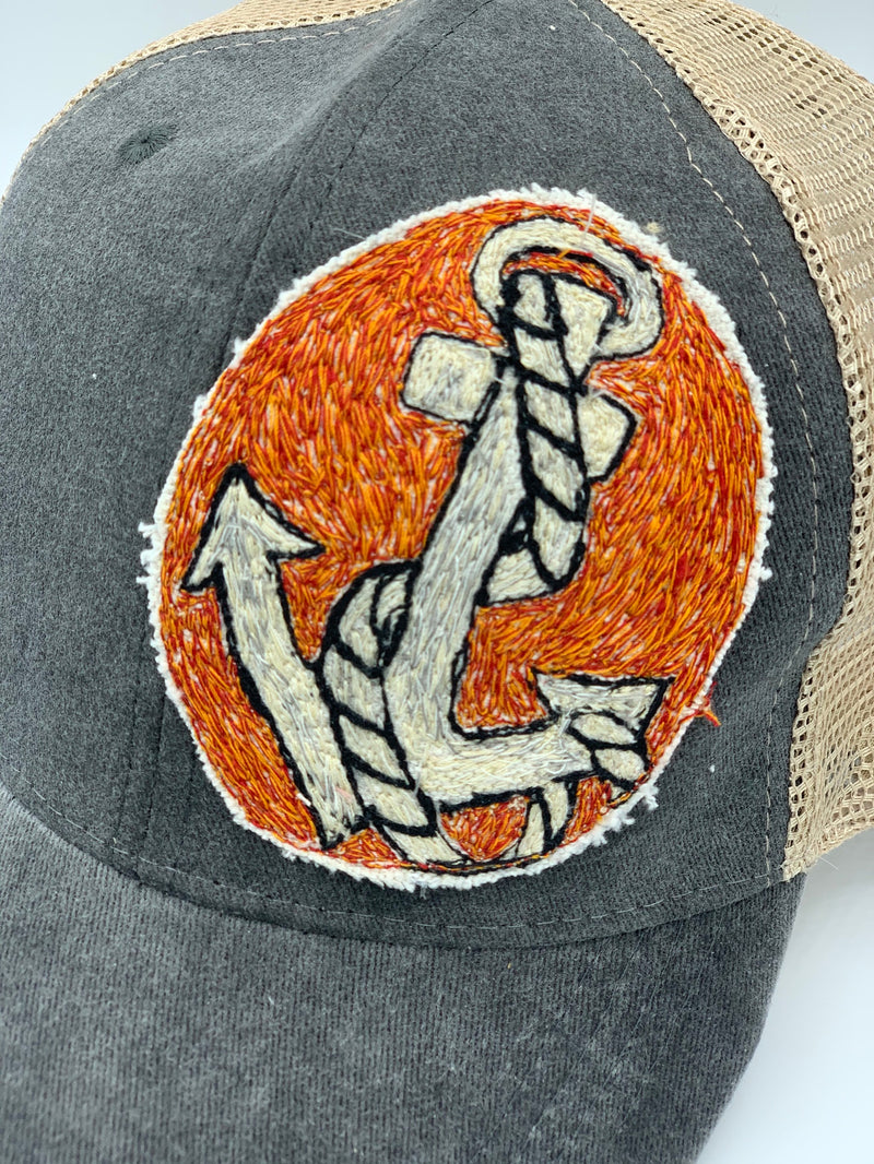 Blink Blink Trucker Hat, Anchors Away 101