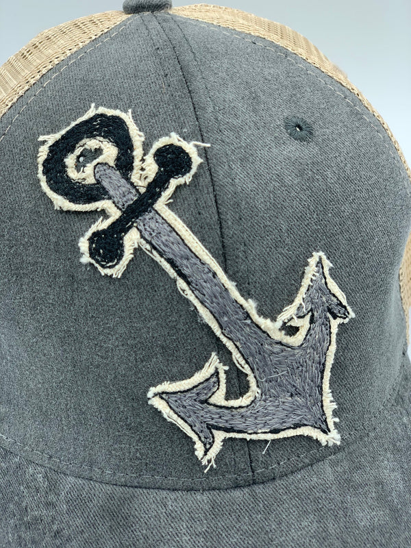 Blink Blink Trucker Hat, Anchors Away 106