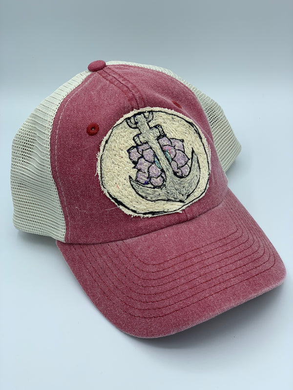 Blink Blink Trucker Hat, Anchors Away 102