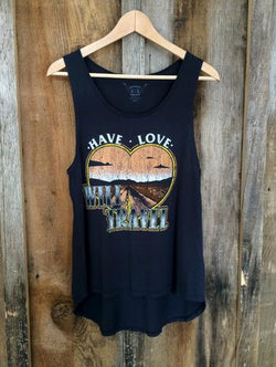 Bandit Brand Women's Long Tank - Have Love